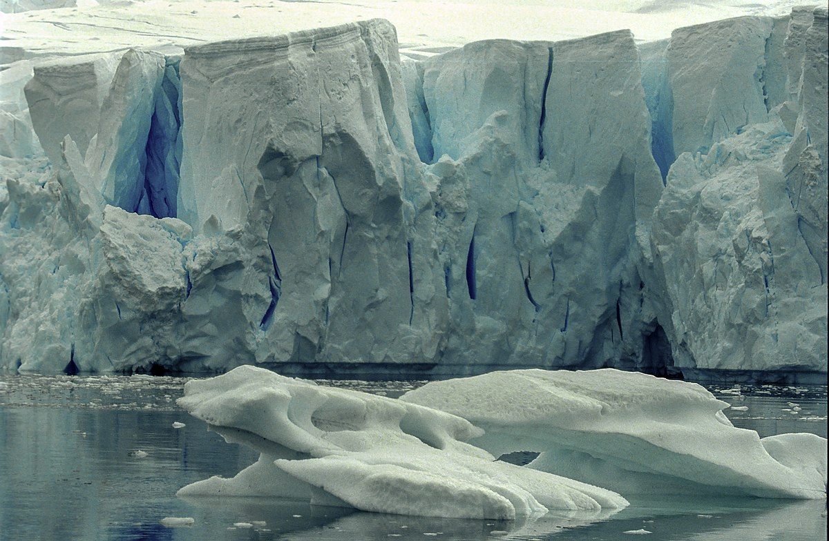 It is a picture of Shocking Ice Ages Pictures