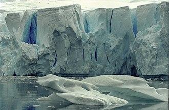 Late Cenozoic Ice Age - Neko Harbour, Antarctica circa 2000