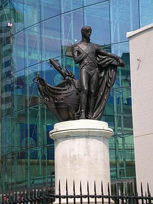 Richard Westmacott - Nelson and his ship, The Bull Ring, Birmingham