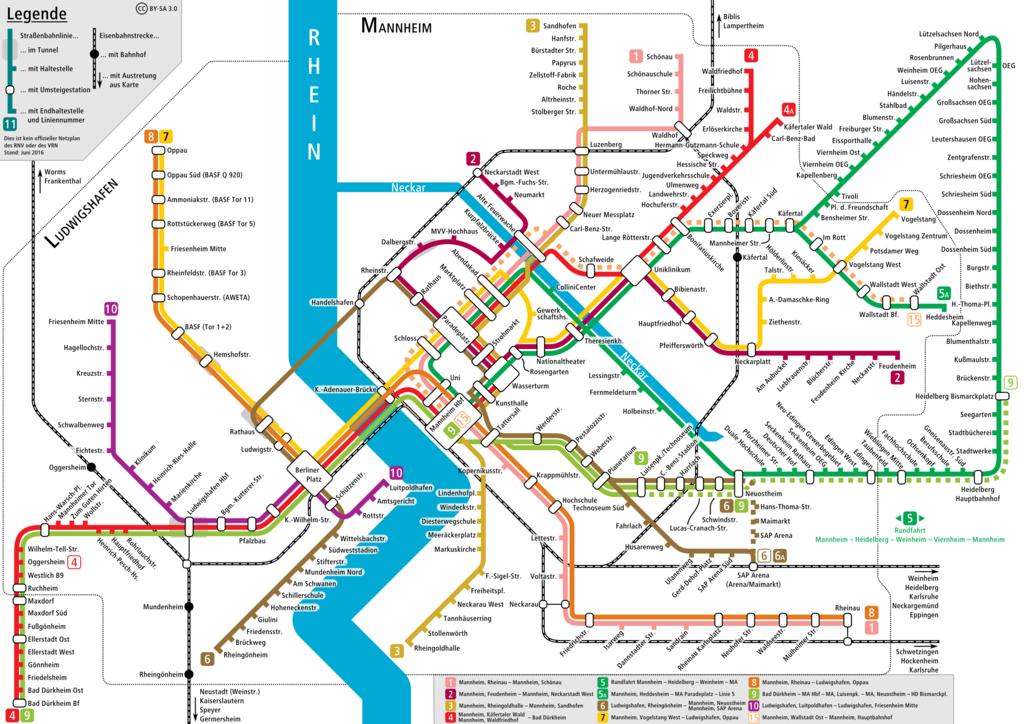 Plan Des Transport En Commun De La Ville De Lyon
