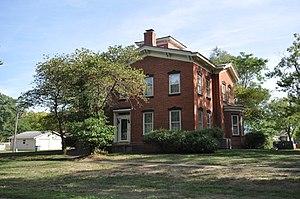 Gideon Ives House - Image: New Boston IL Gideon Ives House