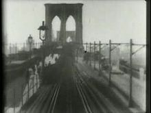 Slika:New Brooklyn to New York via Brooklyn Bridge, no. 2, by Thomas A. Edison, Inc.ogv