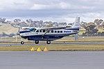 New South Wales Police Force (VH-DVV) Cessna Grand Caravan 208B EX taxiing at Wagga Wagga Airport.jpg