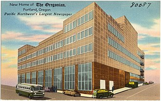 The Oregonian - Image: New home of The Oregonian, Portland, Oregon, Pacific Northwest's largest newspaper (80087)