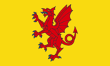 New realisation of proposed Somerset flag.png