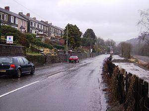 Newbridge, Caerphilly - Image: Newbridge, Older housing