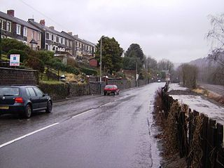 Newbridge, Caerphilly town in Wales