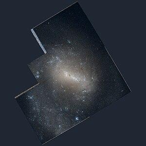 NGC 4618 - Image: Ngc 4618 hst R814GB450