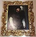 Niccolò dell'abate, ritratto di gentiluomo con cappello piumato, 1552.JPG