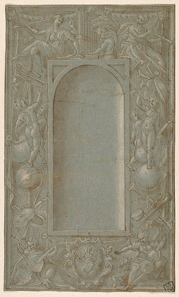 File:Niche Surrounded by a Decorative Frame Dedicated to the Theme of Music MET DP832007.jpg