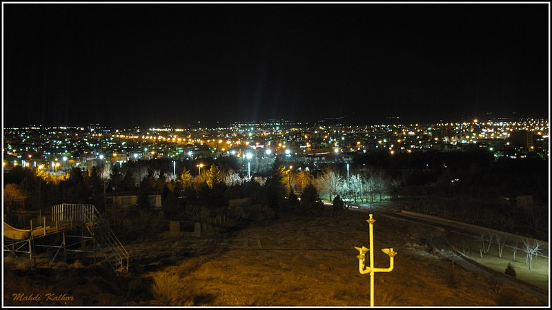 Fil:Night in Khomein.jpg