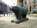 Nijlpaard Ellie Hahn Koekoeksplein Utrecht.JPG