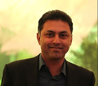Nikesh Arora - Arora at the Google Zeitgeist 2009 event
