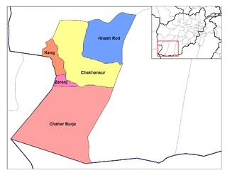 Khash Rod District District in Nimruz Province, Afghanistan