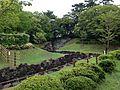 Ninomaru Waterway of Sumpu Castle.JPG