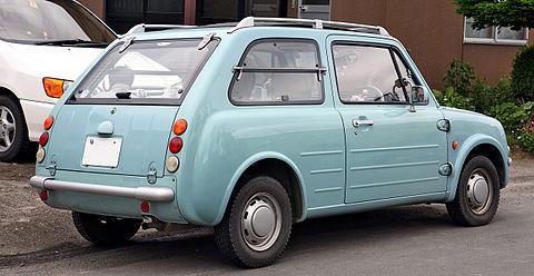 Nissan Pao Heckansicht