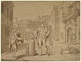 Nobleman Giving Alms to Beggar in Piazza near the Coliseum MET DP819778.jpg