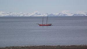 Noorderlicht in Spitsbergen 2.JPG