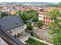 Nordhausen, Thür., Blick über die Altstadt vom Dom aus.jpg