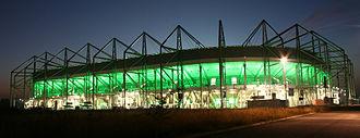 Borussia-Park - Image: Nordpark Stadion Borussia Mönchengladbach