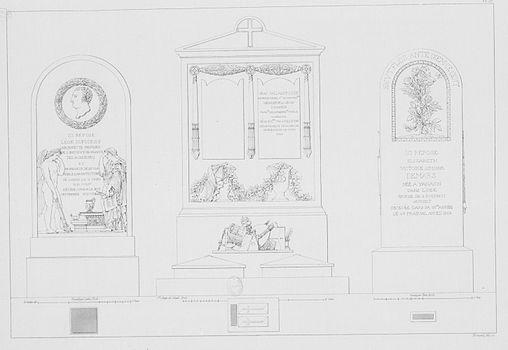 Normand - Monuments funéraires choisis dans les cimetières de Paris - Planche 57.jpg