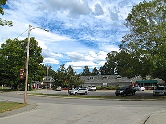 Norris, Tennessee - Post office and Archer's Food Center in Norris