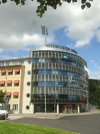 Idrottsparken (Sundsvall) - Image: Norrporten Arena 18
