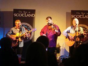 North Sea Gas (band) - In Edinburgh in 2015