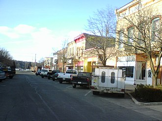 Albany, Wisconsin - Downtown: North Water Street