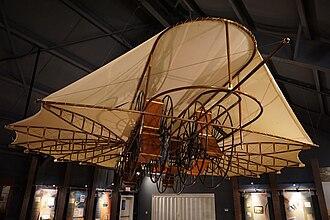 Ezekiel Airship - Ezekiel Airship replica on museum display