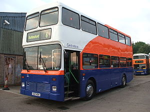 Centrebus - Northern Counties Palatine bodied Volvo B10M-50 in September 2008