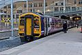 Northern Rail Class 158, 158753, platform 1, Manchester Victoria railway station (geograph 4500557).jpg