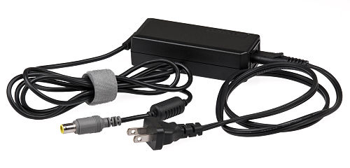 """Power brick"" in-line configuration, with detachable AC cord Notebook-Computer-AC-Adapter.jpg"