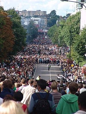 Ladbroke Grove - Image: Notting Hill Carnival 2006 006