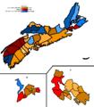 Nova Scotia 2009 provincial elections.PNG