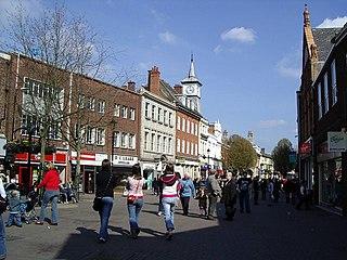 town in Warwickshire, England