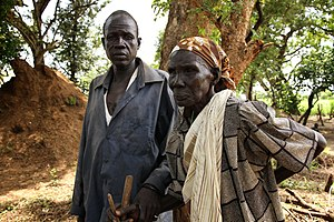 South Sudanese Civil War - A South Sudanese mother and her son at a refugee camp in Gambela in 2014. Three other sons who also tried to escape the violence were killed.