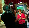 Nynke de Zoeten bij D66 uitslagenavond Europese verkiezingen 2014 in Nijmegen.jpg