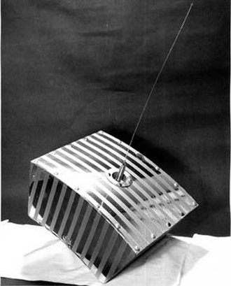 Amateur radio satellite - OSCAR 1