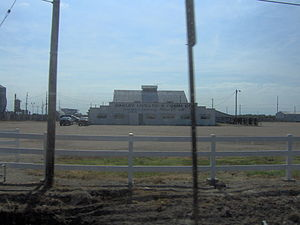 Logan County, Kansas - Agriculture, as represented by this stockyard on the edge of Oakley, is important in Logan County