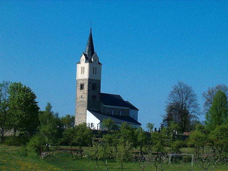 Obděnice, kostel
