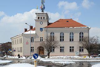 Łaziska Górne Place in Silesian Voivodeship, Poland