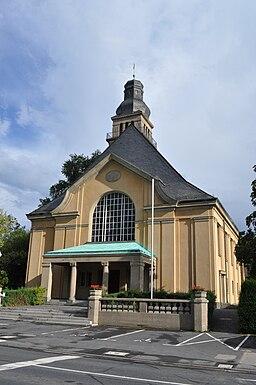 Oberursel, Christuskirche, Front
