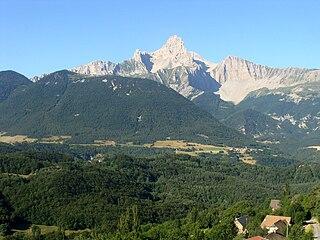 Grande Tête de lObiou mountain in France