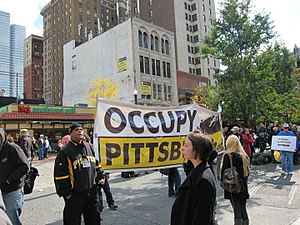 Occupy Pittsburgh - Image: Occupy Pittsburgh (V) 002