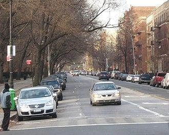 Ocean Avenue (Brooklyn) - At Parkside Avenue