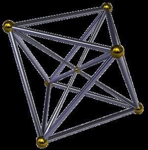 Cubic pyramid - Image: Octahedral pyramid