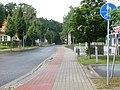 Oderstraße, letzter Abschnitt vor der Sackgasse für Kfz in Richtung Kleinmachnow - panoramio.jpg