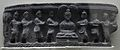 Offering of Food Bowls by Four Dikpals - Gandhara - Indian Museum - Kolkata 2012-11-16 1932.JPG