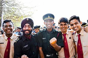 Armed Forces Medical College (India) - Officers and cadets of the Armed Forces Medical College